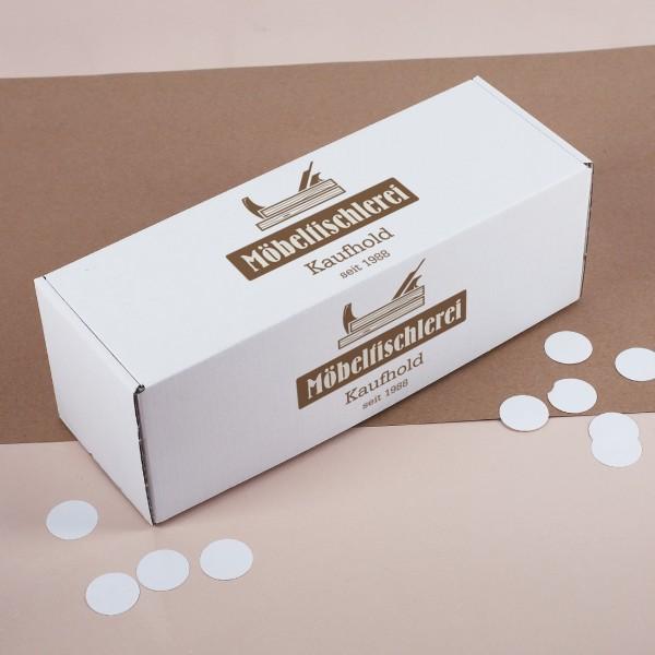 Karton Verpackung mit Logo bedruckt