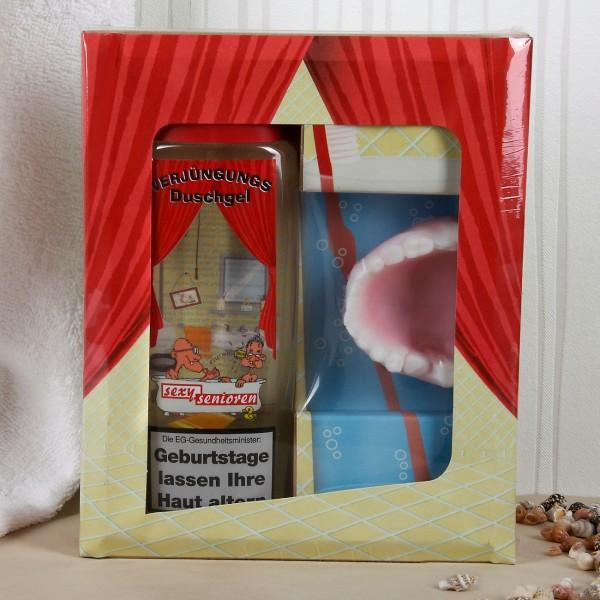 Verjüngerungsgeschenkset mit Duschgel und Seife