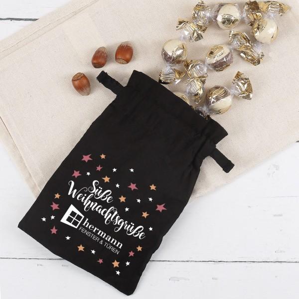 Weihnachtsgeschenk für Kunden gefüllt mit Pralinen