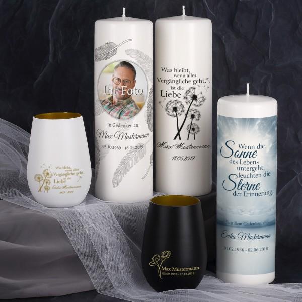 Musterpaket - Kerzen und Windlichter