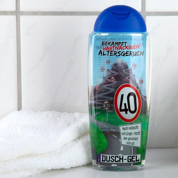 Duschgel zum 40. Geburtstag gegen Altersgeruch